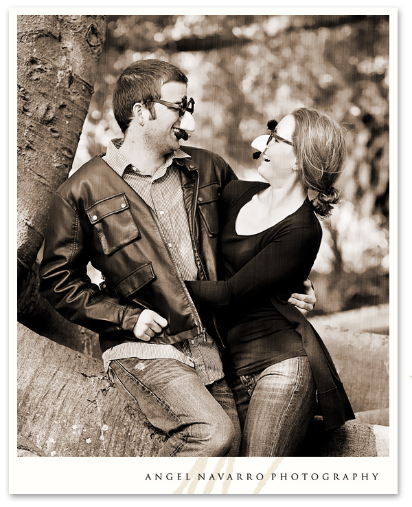 Funny Engagement Picture